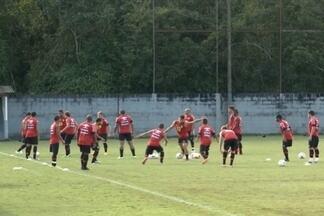 JEC enfrenta Figueirense neste domingo na Arena - Tricolor quer garantir segundo jogo da final em casa.