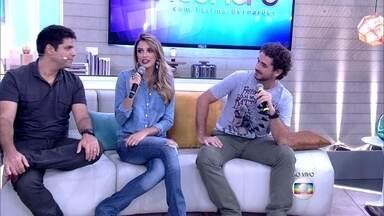 Rafa Brites e Felipe Andreoli se conheceram pela internet: 'E foi sem drink' - 'Eu tive medo daquela fotinha ser dela mesmo', comentou Andreoli