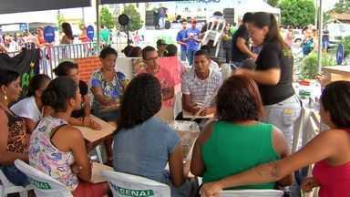 Bairro Nova Esperança recebe projeto Multiação em Cuiabá - O bairro Nova Esperança recebeu a segunda edição do projeto realizada este ano. Mais de sete mil e seiscentos atendimentos foram realizados.