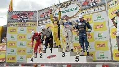 Campo Grande recebe segunda etapa do Campeonato Brasileiro de Fórmula Truck - Leandro Totti venceu a prova. A prova não acontecia na capital há 5 anos