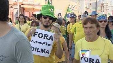 Protestos em Taubaté, Bragança e Atibaia - Veja como foi a manifestação.