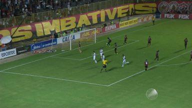 Ceará elimina o Vitória pela terceira vez seguida no Nordestão - A partida foi em casa, no Barradão, teve o apoio de 11 mil torcedores. Mas o rubro-negro não conseguiu a vaga para a final.