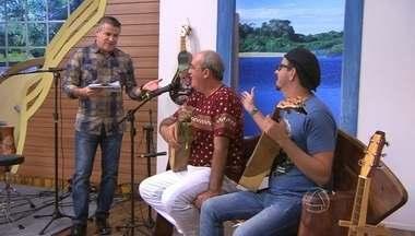 Recebemos no nosso palco os músicos Abel dos Anjos e Sidnei Duarte - Recebemos no nosso palco os músicos Abel dos Anjos e Sidnei Duarte