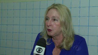 Secretária de Saúde de Rio Largo fala sobre as ambulâncias encontradas paradas - Kátia Born explica o assunto.