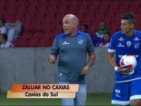 Luis Antonio Zaluar é o novo técnico do Caxias - Treinador chega para a Série C do Brasileiro.