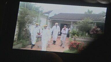 Cheiro de produto químico que vazou afeta 15 e quarteirão é isolado, em Porto Velho - Vítimas foram atendidas pelo Samu