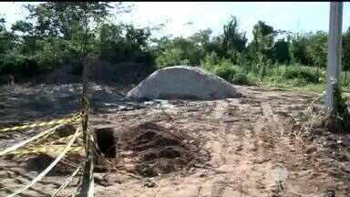 Moradores do Vale do Gavião reclamam de transtornos causados por obra - Moradores do Vale do Gavião reclamam de transtornos causados por obra