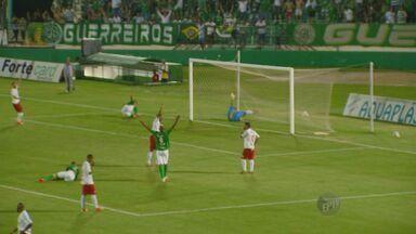 Guarani goleou o Batatais pela Série A-2 do Pauista - Fernando Fumagalli foi o herói do jogo com 3 gols.