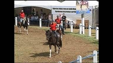 Expoagro é atração na região de Itapetininga - Em Itapetininga (SP), a atração é a maior feira agropecuária da região sudoeste do estado: a expoagro.