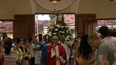 Católicos celebraram Dia de Santo Expedito em Aracaju - Católicos celebraram Dia de Santo Expedito em Aracaju.