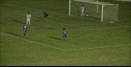 Atlético-PB 1 x 0 Sousa - França marca o gol da vitória do Trovão Azul sobre o Dinossauro no Perpetão.