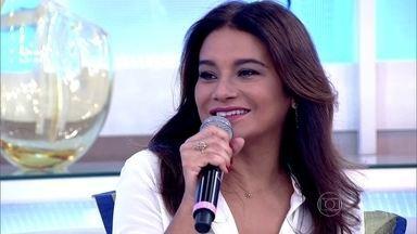 Dira Paes relembra atuação em 'Amores Roubados' e não poupa elogios à minissérie - Atriz se emociona ao falar sobre o seu trabalho mais recente na TV