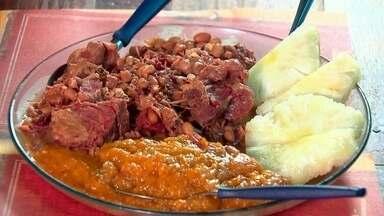Restaurante Nordestino aposta em feijão com jabá no Comida Di Buteco - O restaurante fica Mercado Bandeirante, no Núcleo Bandeirante. O prato, que serve até quatro pessoas, sai por R$40.