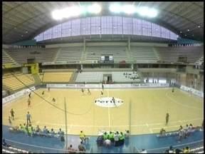 Atlântico está na semi-final da Taça Brasil de Futsal - Equipe venceu de virada o Minas.