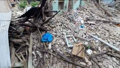 Ruas desaparecem e vilarejo é abandonado em vilarejo a 10 km de Katmandu - A tragédia fez o tempo parar em Khokana. Todos os moradores tiveram que deixar suas casas.
