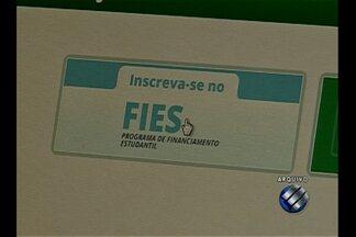 Muitos estudantes de Belém ainda não conseguiram fazer a inscrição no FIES - Teve estudante que até já desistiu.