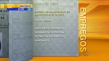 Emprego: empresa de manutenção de carrocerias de ônibus tem vagas em Porto Alegre - Oportunidade é para auxiliar de chapeação.