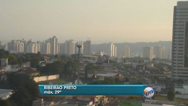 Confira a previsão do tempo nesta quarta-feira (29) em Ribeirão Preto e região - Previsão é de sol e temperatura máxima deve chegar aos 29 graus.