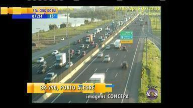 Trânsito: confira a movimentação na manhã de quarta (29) - Assista ao vídeo.