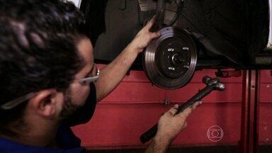 Barulhos nos freios mostram indícios de possível quebra - Barulhos nos freios mostram indícios de possível quebra.