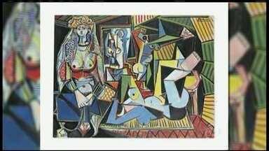 Quadro de Picasso é arrematado pelo valor mais alto já pago por uma obra - Um quadro de Pablo Picasso foi arrematado, em Nova York, pelo valor mais alto já pago por uma obra de arte em um leilão. Foram US$ 179 milhões de dólares, o equivalente a mais de R$ 500 milhões.