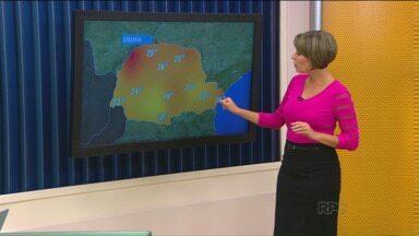 Confira a previsão do tempo para o fim de semana - Temperatura deve aumentar em todo estado.