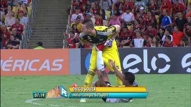 Sport empata com o Flamengo com Diego Souza substituindo Magrão - No Recife, Virada Esportiva atraiu diversas famílias.