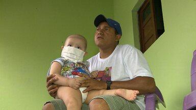 Criança com leucemia em CG tem transporte negado para fazer tratamento - Apenas uma ambulância estava funcionando.