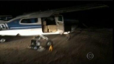 Ceará é usado como nova rota aérea de tráfico de drogas para a Europa - A conclusão é da Polícia Federal. Em apenas um mês, agentes interceptaram dois aviões que transportavam mais de 600 kg do entorpecente.