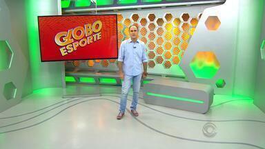 Confira a íntegra do Globo Esporte RS desta terça-feira (19) - Programa destaca saída de Felipão do comando técnico do Grêmio, embarque do Internacional para a Colômbia e aposentadoria do ex-volante Magrão.