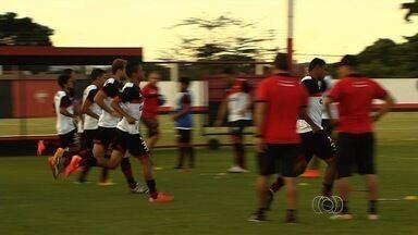 Atlético-GO tenta reverter vantagem do América-RN para avançar na Copa do Brasil - Time goiano, que perdeu por 4 a 2 em Natal, precisa dar o troco no rival para conseguir vaga na terceira fase da competição nacional.