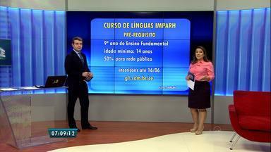 Imparh abre 700 vagas para curso de idiomas, em Fortaleza - Veja lista de cursos e saiba como se inscrever.