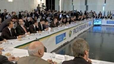 Governadores discutem prioridades para o Pacto Federativo - Mato Grosso do sul pede a mudança na forma de pagar as dívidas com o Governo Federal