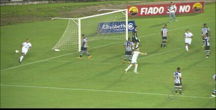 Botafogo-PB 1 x 1 Treze - Empate complica a situação dos dois times no quadrangular final do Paraibano. Jogo ainda foi marcado por acusação de racismo.