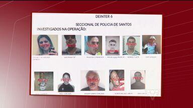 DIG de Santos divulga resultados da Operação Travessia - Polícia desmantelou uma quadrilha que atuava na Baixada Santista, na Capital e em Santa Catarina.