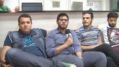 Versalle fala sobre nova fase da banda - Músicos conversaram com equipe da Rede Amazônica.