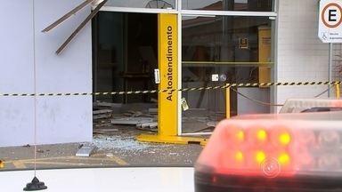 Região de Sorocaba registra três explosões de caixas automáticos em mesmo de uma semana - Um crime que tem assustado bastante é o de explosões a caixas automáticos. A secretaria não tem números específicos de explosões, mas fala de roubos a banco.