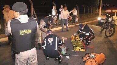 Polícia ainda não identificou suspeitos que esfaquearam ciclista em Guaxupé (MG) - Polícia ainda não identificou suspeitos que esfaquearam ciclista em Guaxupé (MG)