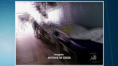 Defensoria Pública visita a hospitais de Fortaleza que enfrentam superlotação - Ceará vive crise na saúde e tem hospitais superlotados.