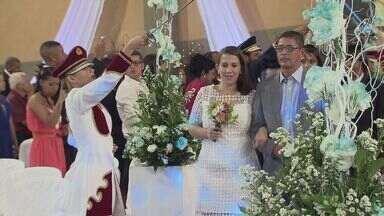 Aconteceu em Cubatão o Casamento Comunitário - Dia foi de 62 casais falarem o sim.