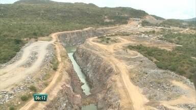 Transposição do Rio São Francisco está apenas 70% pronta - Moradores da região ainda vão ter que esperar.