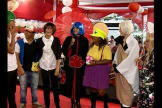 Cultura pop japonesa é atração nos corredores da 19ª Feira Panamazônica do Livro - Animes e mangá são bastante procurados pelo público.
