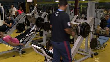 Especialista dá dicas de incentivo para prática de musculação no inverno - Especialista dá dicas de incentivo para prática de musculação no inverno.