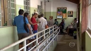Médicos da Prefeitura de Belo Horizonte fazem paralisação de 24h - Ato começou às 7h desta segunda-feira e segue até às 7h desta terça-feira.
