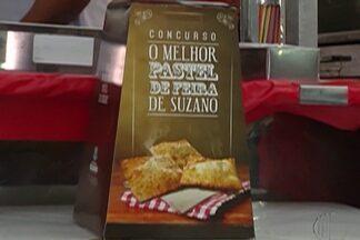 Final de concurso de pastel é realizada em Suzano neste fim de semana - Os jurados tiveram que escolher entre cinco pastéis.