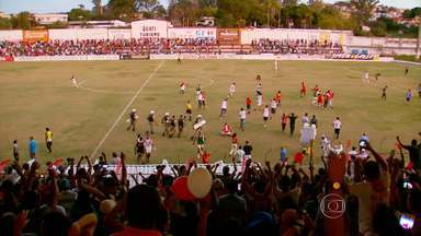 O Tricordiano termina como vice do Modulo II do Mineiro, e disputa a elite no próximo ano - Além do Tricordiano, o outro a subir foi o Uberlândia