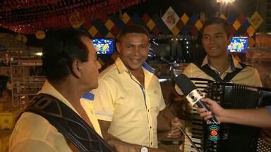 Danilo Alves fala ao vivo sobre o São João de Campina Grande - Três do Nordeste na programação.