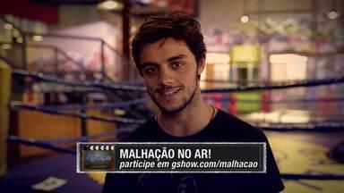 16/06 - Felipe Simas quer saber sua opinião sobre o capítulo! Comente! - Acesse o Malhação No Ar e participe!
