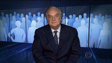 """""""Dilma pôs a culpa de tudo que nos acontece na crise de 2008"""", comenta Jabor - Arnaldo Jabor diverge da presidente Dilma Rousseff em relação aos problemas da economia brasileira."""