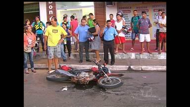 Jovem atropelada por ônibus morre no hospital em Santarém - Acidente aconteceu na sexta-feira (12).